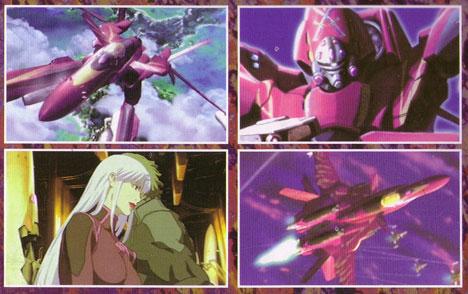 SV-51 i animen, samt Nora Pokyanski